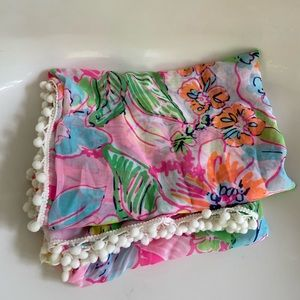 Lilly Pulitzer for Target Women's Pom Scarf